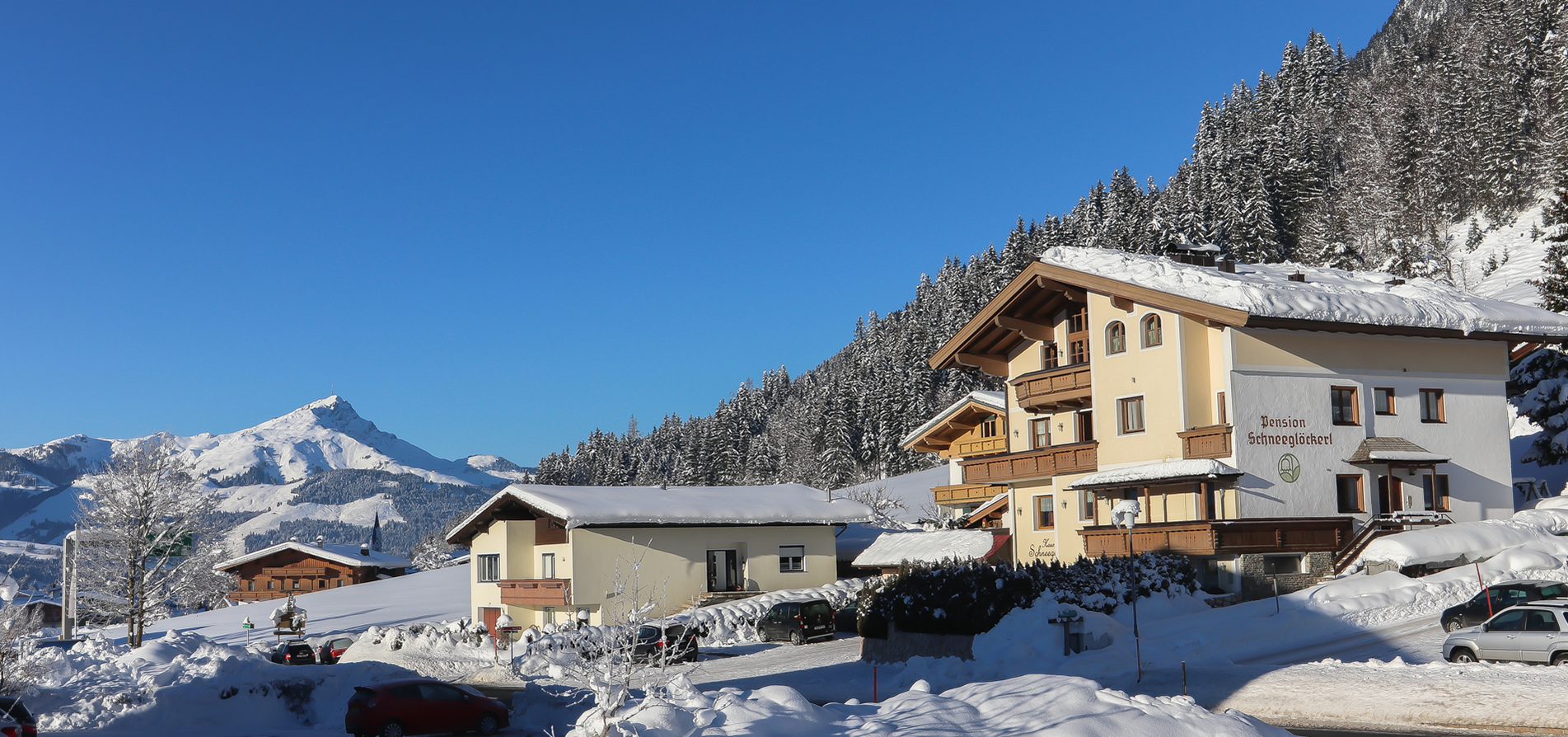 Winter holidays in the  Pillerseetal valley